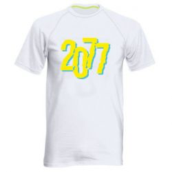 Чоловіча спортивна футболка 2077 Cyberpunk