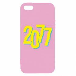Чохол для iphone 5/5S/SE 2077 Cyberpunk