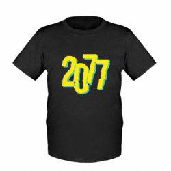 Дитяча футболка 2077 Cyberpunk