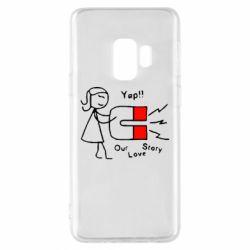 Чехол для Samsung S9 2302Our love story2