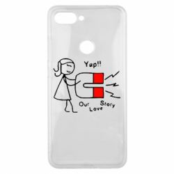 Чехол для Xiaomi Mi8 Lite 2302Our love story2