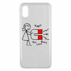 Чехол для Xiaomi Mi8 Pro 2302Our love story2