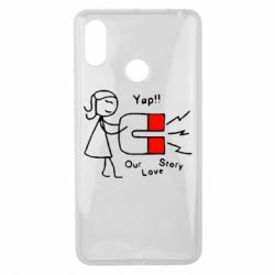 Чехол для Xiaomi Mi Max 3 2302Our love story2