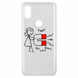 Чехол для Xiaomi Mi Mix 3 2302Our love story2