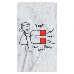 Полотенце 2302Our love story2