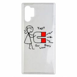 Чехол для Samsung Note 10 Plus 2302Our love story2