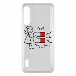 Чохол для Xiaomi Mi A3 2302Our love story2