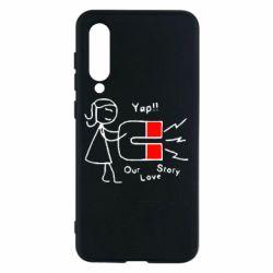 Чехол для Xiaomi Mi9 SE 2302Our love story2