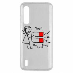 Чехол для Xiaomi Mi9 Lite 2302Our love story2