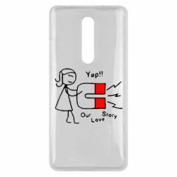 Чехол для Xiaomi Mi9T 2302Our love story2