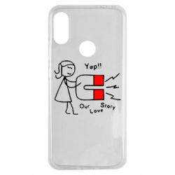 Чехол для Xiaomi Redmi Note 7 2302Our love story2