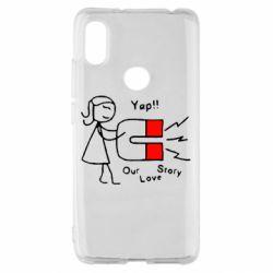 Чехол для Xiaomi Redmi S2 2302Our love story2