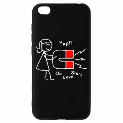Чехол для Xiaomi Redmi Go 2302Our love story2