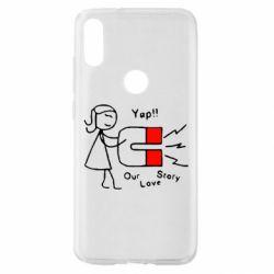 Чехол для Xiaomi Mi Play 2302Our love story2