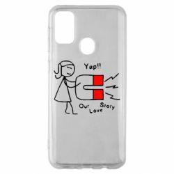 Чехол для Samsung M30s 2302Our love story2