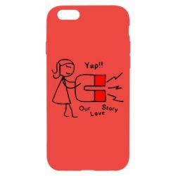 Чехол для iPhone 6/6S 2302Our love story2