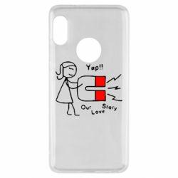 Чехол для Xiaomi Redmi Note 5 2302Our love story2