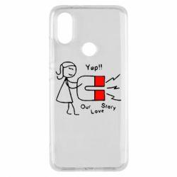 Чехол для Xiaomi Mi A2 2302Our love story2