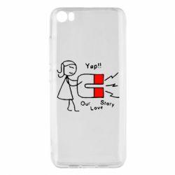 Чехол для Xiaomi Mi5/Mi5 Pro 2302Our love story2