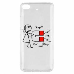 Чехол для Xiaomi Mi 5s 2302Our love story2