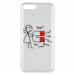 Чехол для Xiaomi Mi6 2302Our love story2