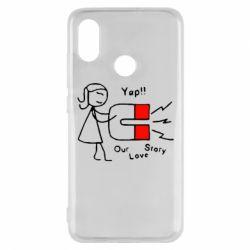 Чехол для Xiaomi Mi8 2302Our love story2