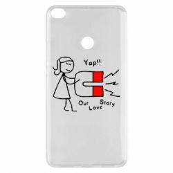 Чехол для Xiaomi Mi Max 2 2302Our love story2