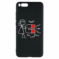 Чехол для Xiaomi Mi Note 3 2302Our love story2