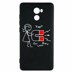 Чехол для Xiaomi Redmi 4 2302Our love story2