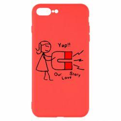 Чехол для iPhone 8 Plus 2302Our love story2
