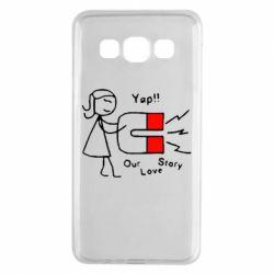 Чехол для Samsung A3 2015 2302Our love story2