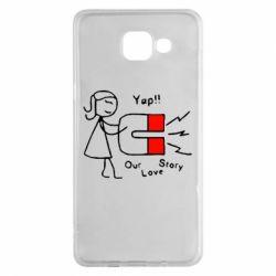 Чехол для Samsung A5 2016 2302Our love story2
