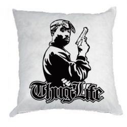 Подушка 2pac Thug Life