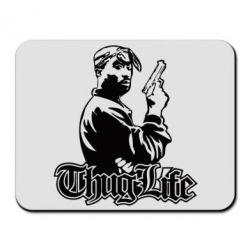 Коврик для мыши 2pac Thug Life