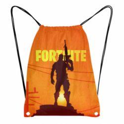 3D рюкзак-мешок Fortnite minimalist silhouettes