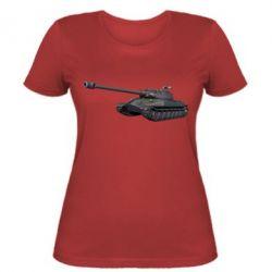 Женская футболка 3Д Танк