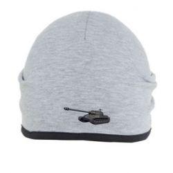 Шапка 3Д Танк