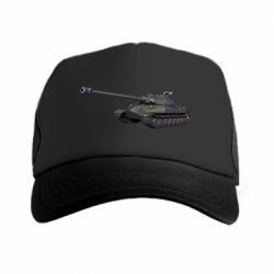 Кепка-тракер 3Д Танк