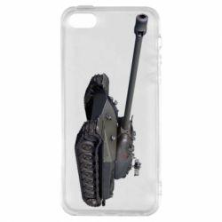 Чохол для iphone 5/5S/SE 3Д Танк