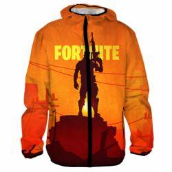 3D ветровка Fortnite minimalist silhouettes