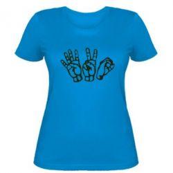 Женская футболка 4:20 (четыре:двадцать) - FatLine