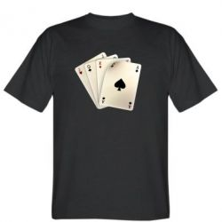 Мужская футболка 4 cards - FatLine