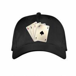 Детская кепка 4 cards - FatLine