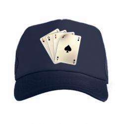 Кепка-тракер 4 cards