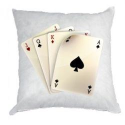 Подушка 4 cards - FatLine