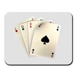 Коврик для мыши 4 cards - FatLine