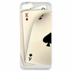 Чехол для iPhone5/5S/SE 4 cards