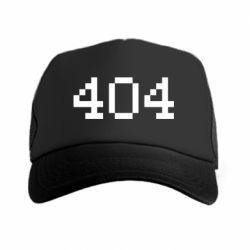 Кепка-тракер 404
