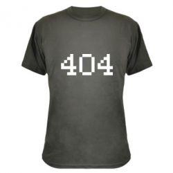 Камуфляжная футболка 404