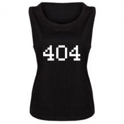 Женская майка 404